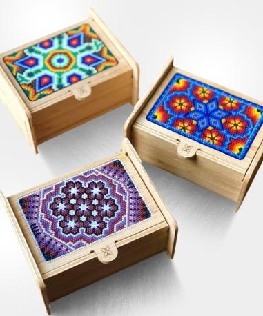 Caja Té Bambu - $640